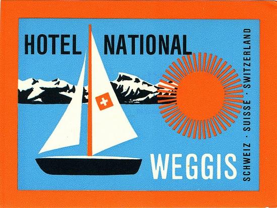 Hotel National, Weggis