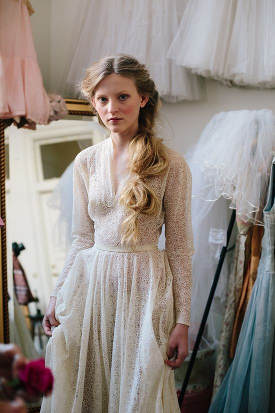Simply lovely wedding dress