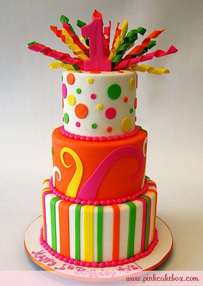 curls birthday cake