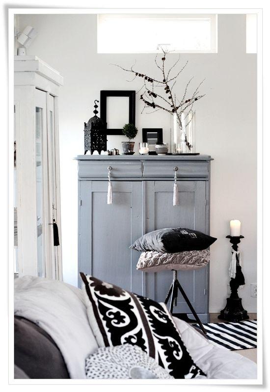 Nice grey cabinet