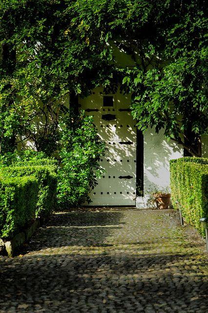 Garden Path & Door