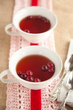 Hot Cranberry Cider from Paula Deen