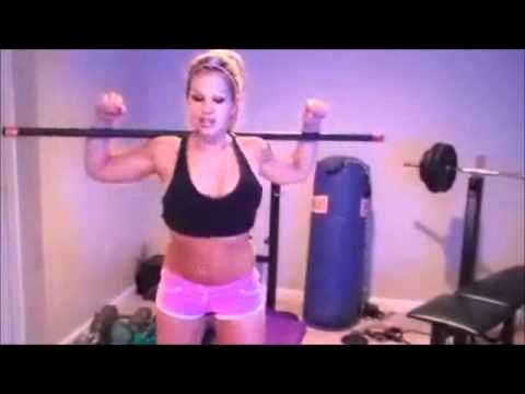 Free 6 minute Workout : Body Bar Routine with Rebecca