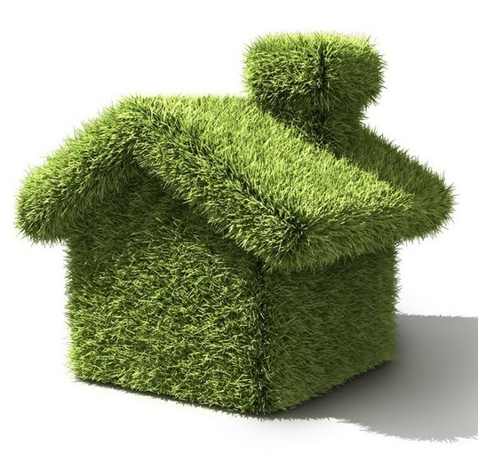 decoracao de interior: Ter uma casa verde