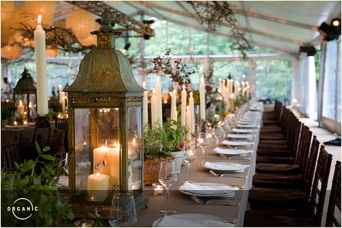 Romantic Rustic Table