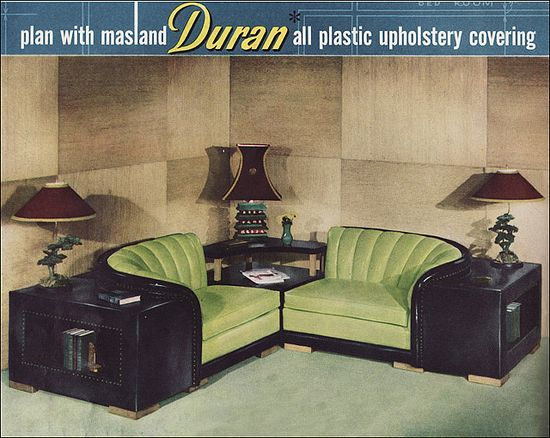 1951 Corner Seating by Duran by American Vintage Home. So stylish.