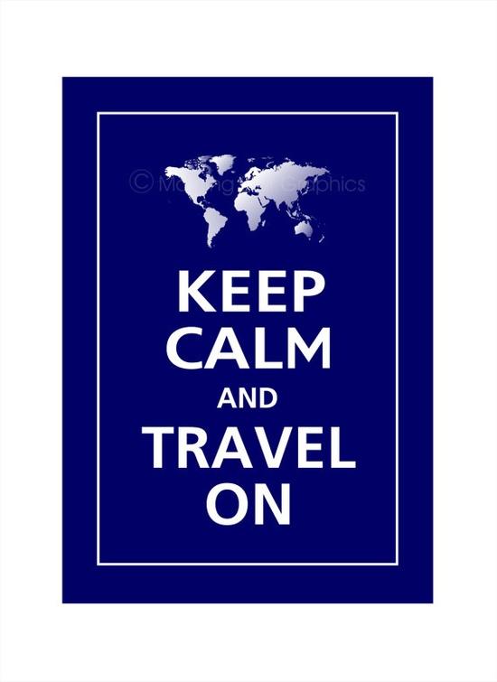 & travel on