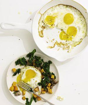 Sausage, Kale, and Sweet Potato Hash Recipe