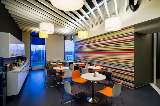 Yandex office 3 by za bor architects, St. Petersburg