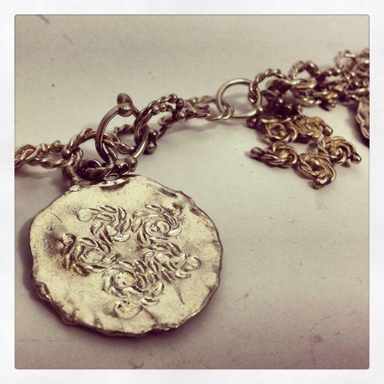 Silver bracelet hand Made