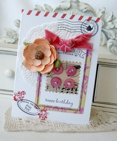 birthday card by Melissa Phillips