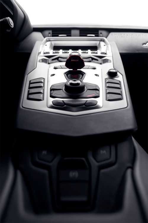 Lamborghini Aventador Launch Button