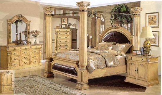 Roman Emperor Bed Room Decorating Ideas