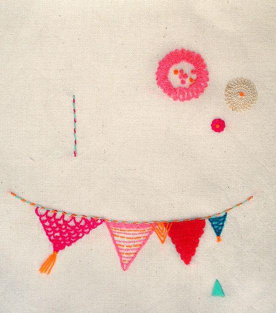 embroidery by Leonor Barreiro
