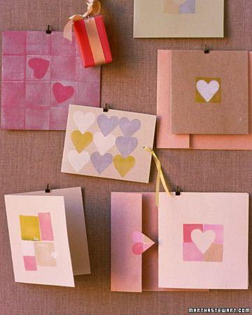 hearts and blocks valentines