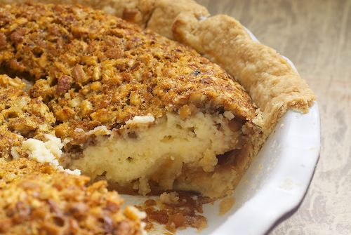 Pecan cheesecake pie?!? Might have to try it!