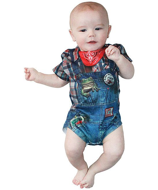 Blue & Red Hillbilly Bodysuit