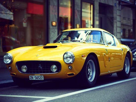 Ferrari 250 GT SWB Berlinetta.