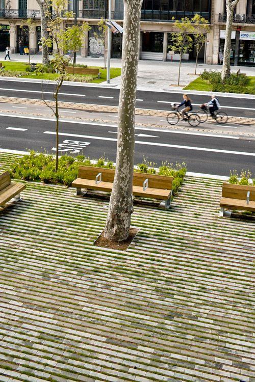 Passeig De St Joan Boulevard by Lola Domènech