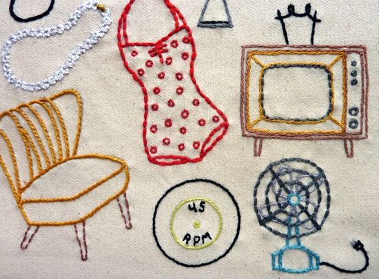 vintage embroidery patterns....love!!!!!