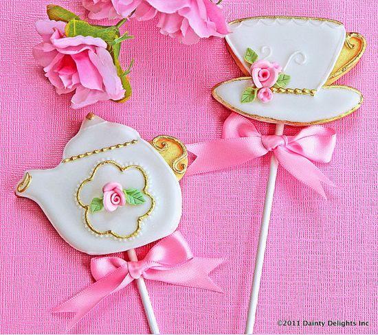 Tea Party Cookie Favors
