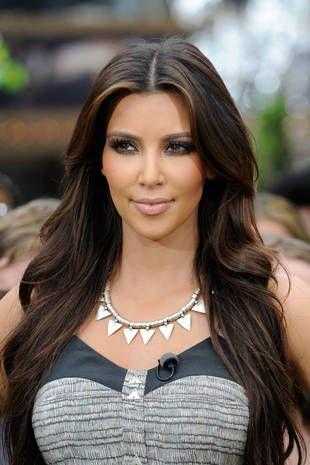 cool straight hair styles face framing caramel highlights
