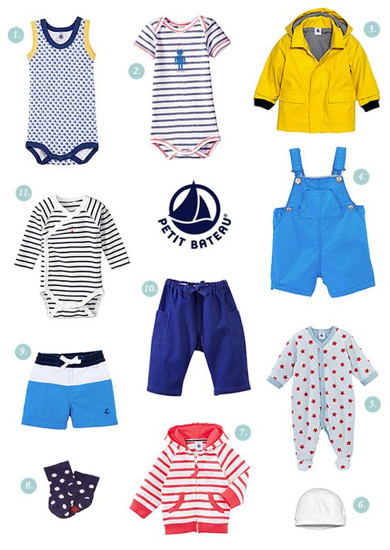 Baby boy clothes from Petit Bateau