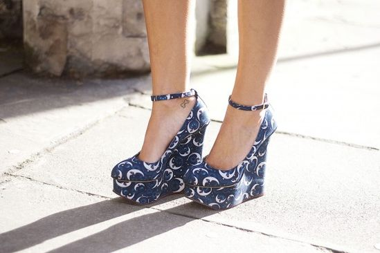 Out of this world Charlotte Olympia heels! Photos by Michelle Bobb-Parris.