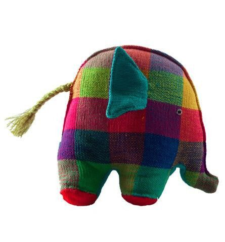 This petite little elephant goes everywhere with baby! Fair trade and handmade in Sri Lanka. I found this on www.babybaazaar.com