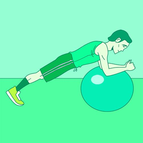 20 Super Effective Stability Ball Exercises