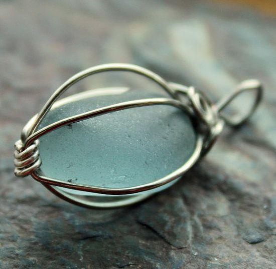 Alaskan sea glass jewelry