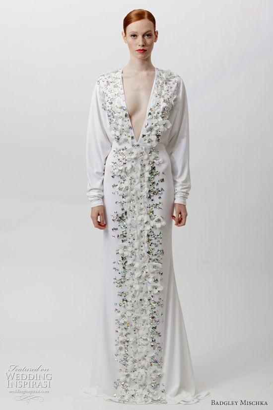 badgley mischka wedding dress 2012