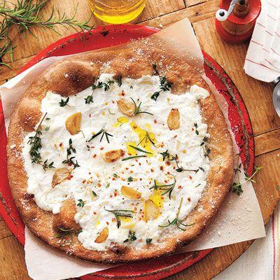 White Pizza #recipe