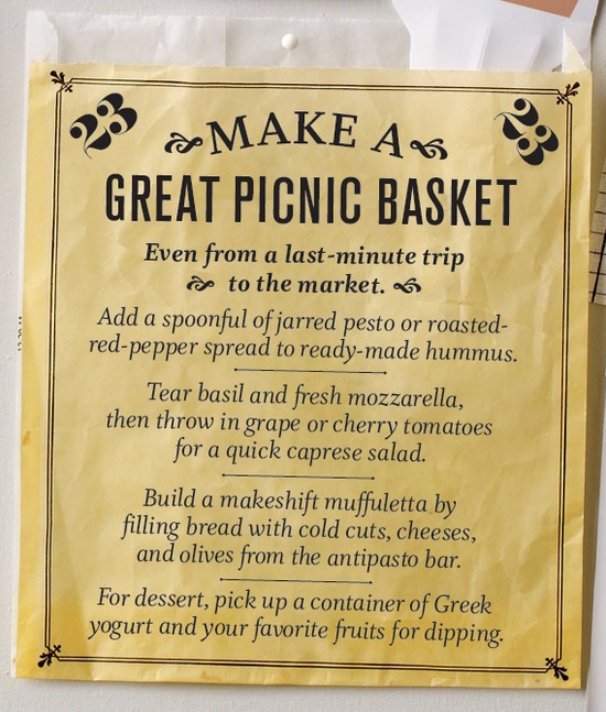 End of summer bucket list: Make a Great Picnic Basket