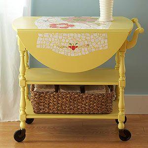 redecorate vintage furniture