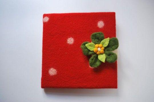 woolen book cover