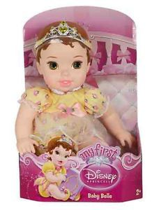 First Disney Princess Doll Beauty and The Beast BELLE Baby toy stuffed animal