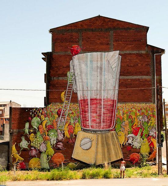 Massive Street Art Murals Around the World