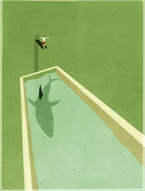 Illustration    by Alessandro Gottardo.
