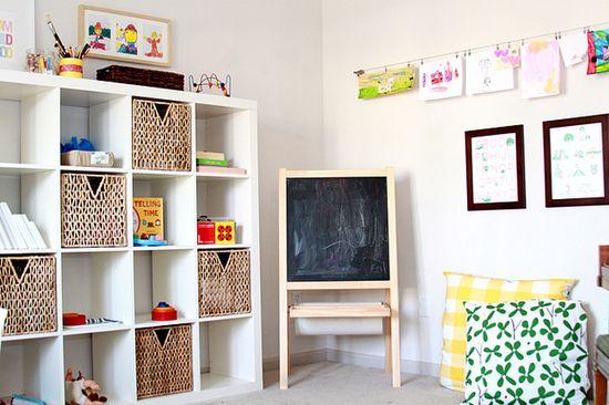 kids room nook