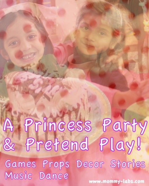 a Princess party or should I say – a pretend-play or drama! Because, part of it was scripted – by my daughter – and part was unstructured play-party. Come on over to see some gorgeous pictures and to know how this drama-party led to hours of playful-learning at www.mommy-labs.com
