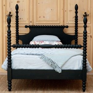 Gwendoline Spindle Bed- bradshaw kirchofer handmade furniture