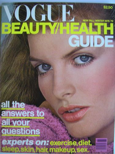 Renee Russo  -  Vogue Beauty & Health Guide Fall 1978