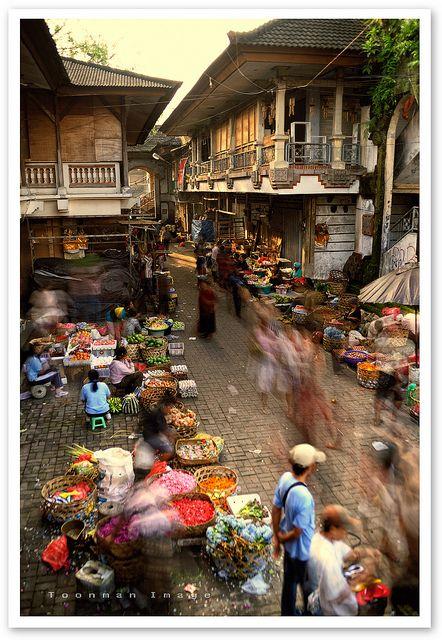 market // ubud, bali