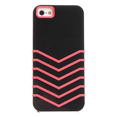 Pink chevron iPhone case.
