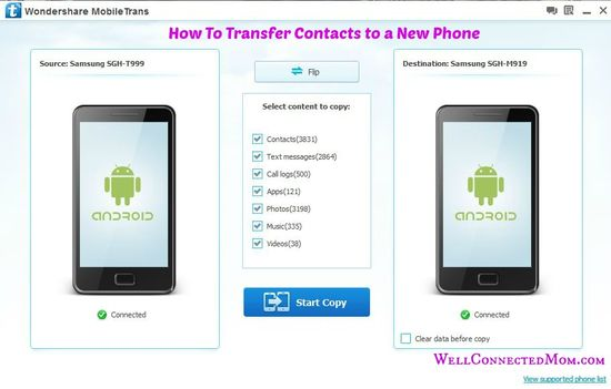 Upgrading to a New Phone? How to Transfer Contacts