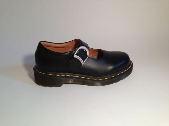 Dr Martens x Comme des Garçons Black Leather Mary Janes