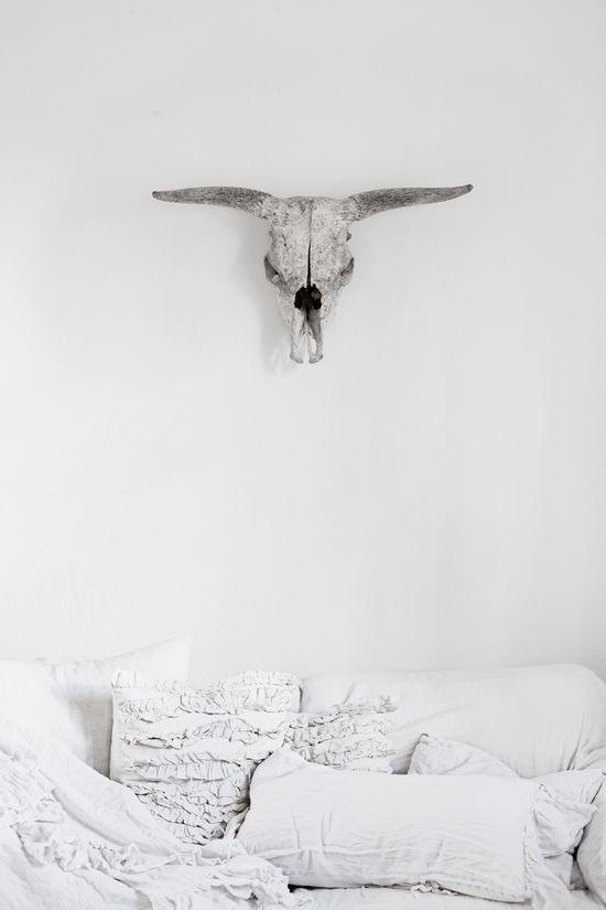 in the bedroom.