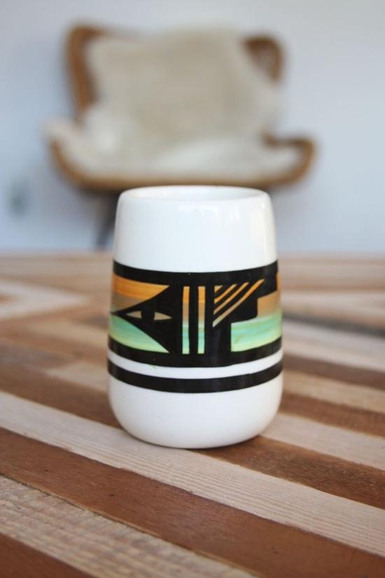 Vintage Southwestern Vase. $38.00, via Etsy.