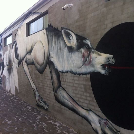 Twoone, Melbourne, street art graffiti.